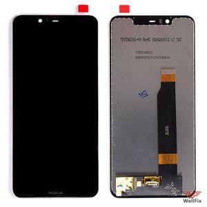 Изображение Дисплей Nokia X5 в сборе черный