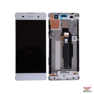 Изображение Дисплей Sony Xperia XA (F3112) в сборе белый