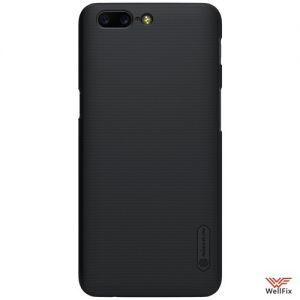 Изображение Пластиковый чехол для OnePlus 5 черный (Nillkin)