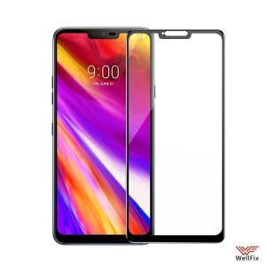 Изображение Защитное 5D стекло для LG G7 ThinQ черное
