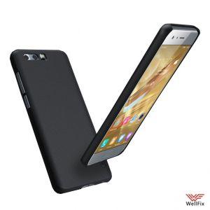 Изображение Пластиковый чехол для Huawei Honor 9 черный (Nillkin)