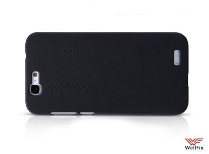 Изображение Пластиковый чехол для Huawei Ascend G7 черный (Nillkin)