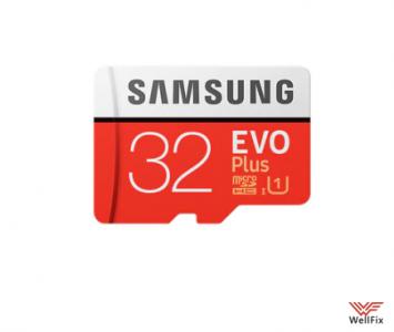 Изображение Карта памяти 32Gb Micro SDHC EVO+ Samsung