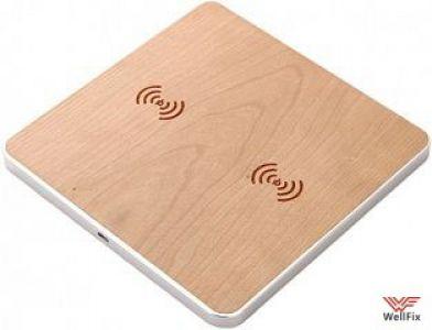 Изображение Беспроводное зарядное устройство Samdi QI Wooden Charging Stand