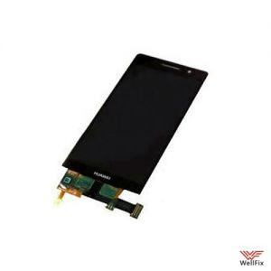 Изображение Дисплей Huawei Ascend P6 в сборе черный