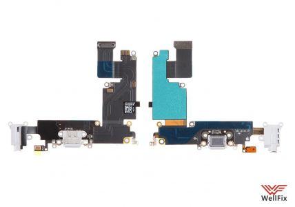 Шлейф для Apple iPhone 6 plus с разъемом зарядки черный