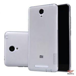 Изображение Силиконовый чехол для Xiaomi Mi Note белый (Nillkin)