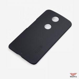 Изображение Пластиковый чехол для Motorola Nexus 6 черный (Nillkin)