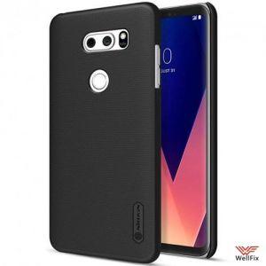 Изображение Пластиковый чехол для LG V30+ (H930DS) черный (Nillkin)