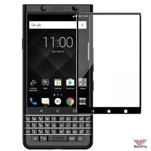 Изображение Защитное 5D стекло для BlackBerry KEYone черное