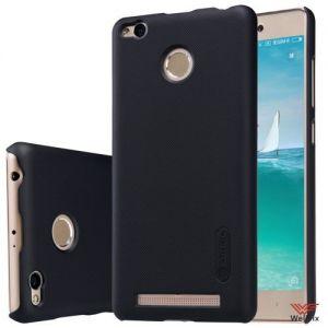 Изображение Пластиковый чехол для Xiaomi Redmi 3 Pro черный (Nillkin)