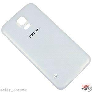 Крышка аккумулятора Samsung Galaxy S5 SM-G900F белая