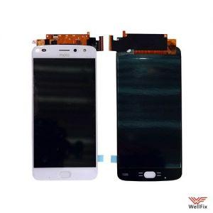 Изображение Дисплей Motorola Moto Z2 Play в сборе белый