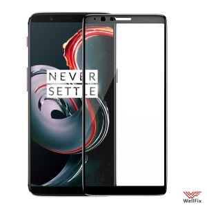 Изображение Защитное 5D стекло для OnePlus 5T черное