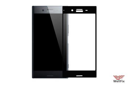 Изображение Защитное 5D стекло для Sony Xperia XZs черное