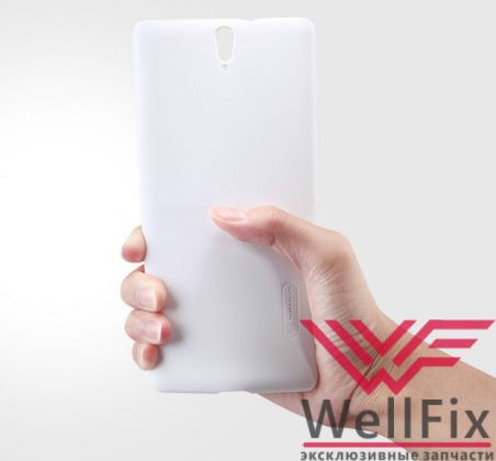 Чехол Sony Xperia C5 Ultra Dual белый (Nillkin, пластик)
