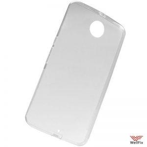 Изображение Силиконовый чехол для Motorola Nexus 6 белый (Nillkin)