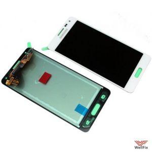 Дисплей Samsung Galaxy Alpha SM-G850F с тачскрином белый