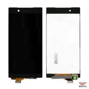 Дисплей Sony Xperia Z5 с тачскрином черный