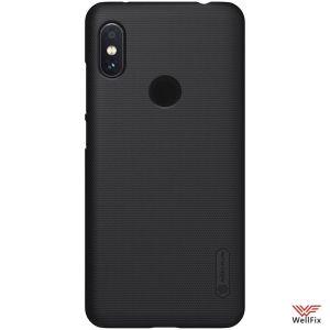 Изображение Пластиковый чехол для Xiaomi Redmi Note 6 Pro черный (Nillkin)