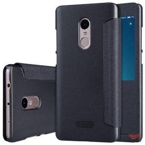 Изображение Чехол-книжка для Xiaomi Redmi Note 4 черный (Nillkin)