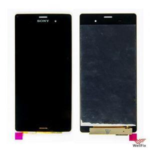 Дисплей Sony Xperia Z3 D6603 с тачскрином черный