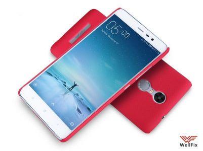 Чехол Xiaomi Redmi Note 3 красный (Nillkin, пластик)