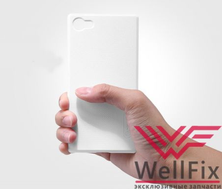 Чехол Sony Xperia Z5 Compact белый (Nillkin, пластик)