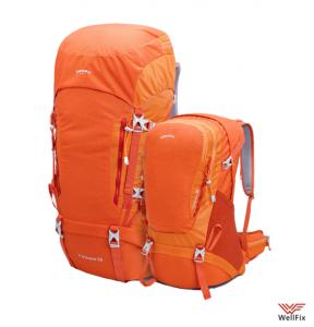 Изображение Альпинистский рюкзак Xiaomi Zenph Early Wind HC 50 л, оранжевый