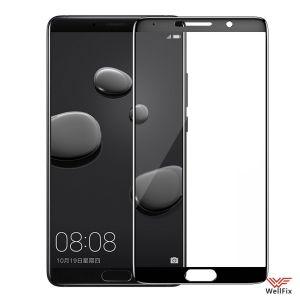 Изображение Защитное 5D стекло для Huawei Mate 10 черное