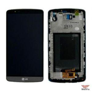 Дисплей LG G3 D855 с тачскрином черный