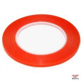 Скотч красный 2мм