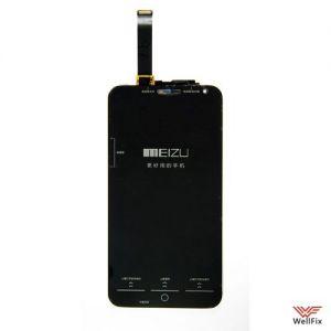 Изображение Дисплей Meizu MX4 в сборе черный