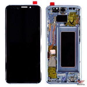 Изображение Дисплей Samsung Galaxy S8 SM-G950F в сборе синий оригинал