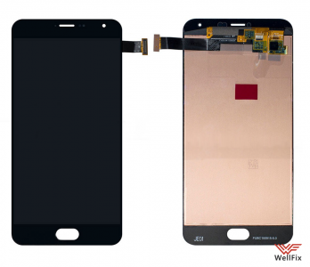 Дисплей Meizu Pro 5 с тачскрином черный