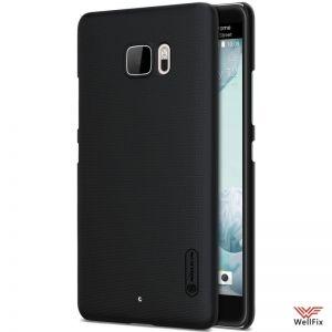 Изображение Пластиковый чехол для HTC U Ultra черный (Nillkin)
