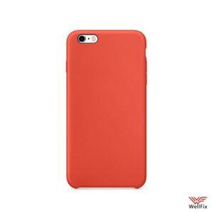 Изображение Силиконовый чехол для iPhone 6/6s оранжевый