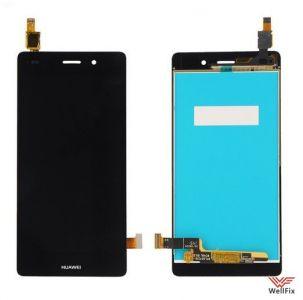 Дисплей Huawei P8 Lite с тачскрином черный