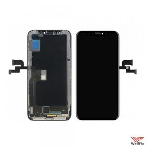 Изображение Дисплей для Apple iPhone X (OLED) в сборе черный