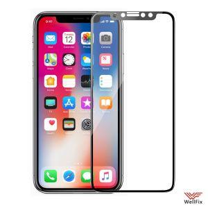 Изображение Защитное 3D стекло для Apple iPhone X, XS, 11 Pro черное