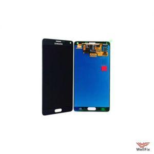 Дисплей Samsung Galaxy Note 4 SM-N910F с тачскрином черный