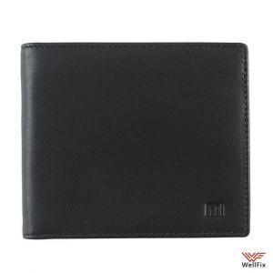 Изображение Кожаный кошелек Xiaomi черный