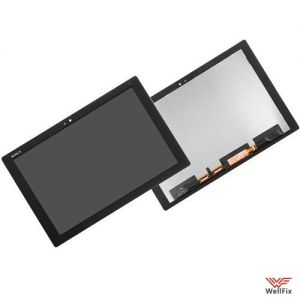Дисплей Sony Xperia Tablet Z4 с тачскрином черный