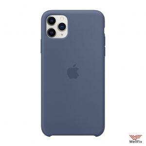Изображение Силиконовый чехол для iPhone 11 синий
