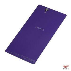 Крышка аккумулятора Sony Xperia Z1 (C6903) фиолетовая