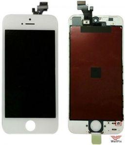 Дисплей Apple iPhone 5 с тачскрином белый