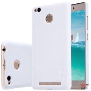 Изображение Пластиковый чехол для Xiaomi Redmi 3 Pro белый (Nillkin)