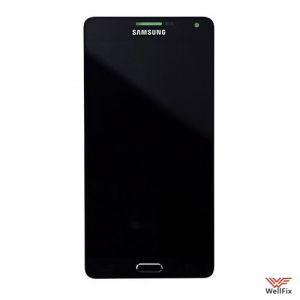 Дисплей Samsung Galaxy A7 SM-A700F с тачскрином черный
