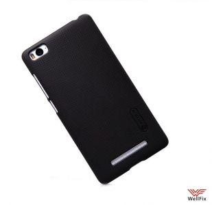 Чехол Xiaomi Mi4i черный (Nillkin, пластик)