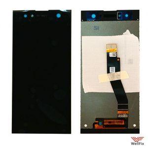 Изображение Дисплей для Sony Xperia XA2 Ultra в сборе черный